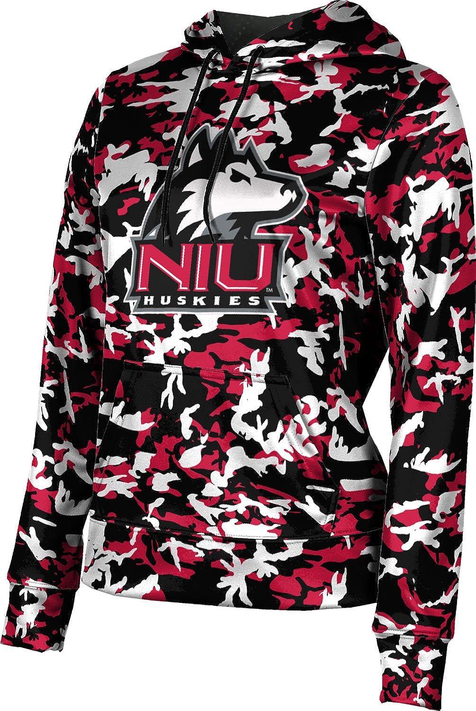 ProSphere Northern Illinois University Girls' Pullover Hoodie, School Spirit Sweatshirt (Camo)