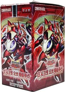 Yu-Gi-Oh! Konami Yugioh Card ARC V Booster Pack Box OCG 200 Cards Secrets of Eternity Korea Version