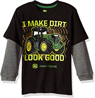 John Deere Little Boys' 2 for Tee