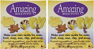 2-PACK - Alumilite Amazing Mold Putty Kit, 0.66-Pound each