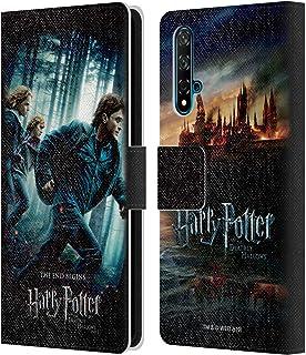 オフィシャル Harry Potter グループ Deathly Hallows Vii Huawei Nova 5T 専用レザーブックウォレット カバーケース