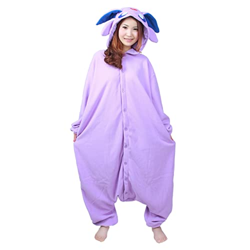 d78a99694249 NOL Adult Unisex Onesie Costume Pyjamas Espeon Monster Cosplay Costumes