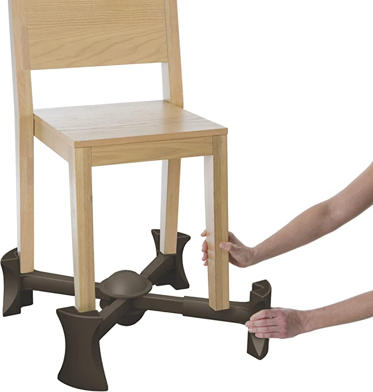 KABOOST Portable Chair Booster Chocolate