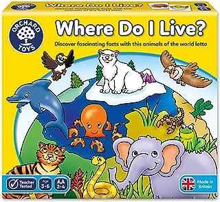 Orchard Toys - Where do I Live Lotto