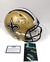 Drew Brees New Orleans Saints Signed Autograph Authentic On Field Speed Proline Full Size Helmet Steiner Sports Certified