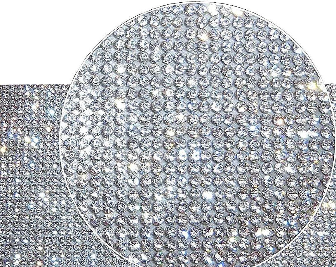 Ling's boutique(TM 9000pcs Bling Crystal Rhinestone DIY car Decoration Sticker (White(Transparent)) djcvgg285