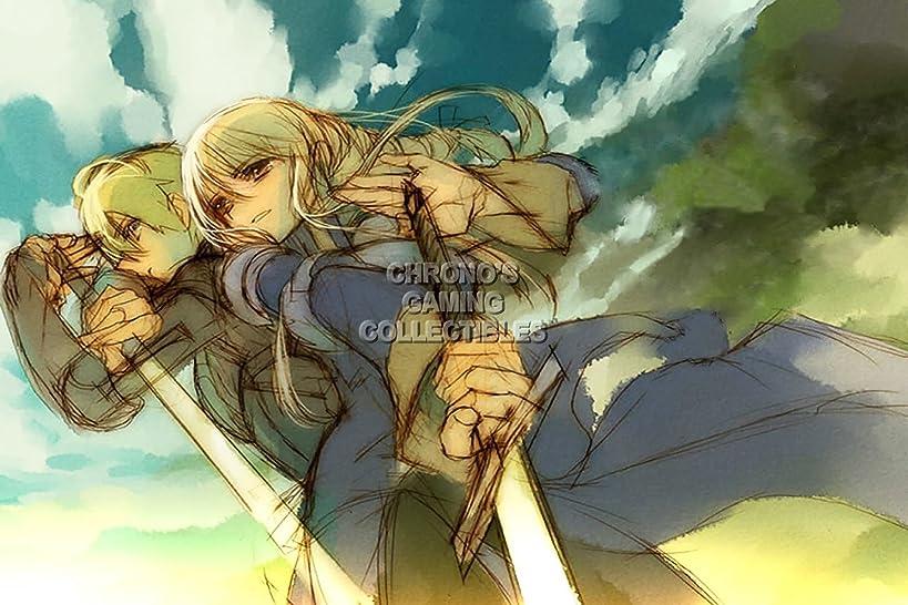 Final Fantasy CGC Huge Poster Tactics PS1 PS2 PSP Vita Nintendo DS GBA - FTA007 (24