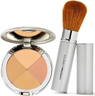 Christina Cosmetics Perfect Pigment 3 Compact and Retractable Brush Duo!
