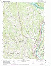 YellowMaps Hartland VT topo map, 1:24000 Scale, 7.5 X 7.5 Minute, Historical, 1959, Updated 1988, 26.7 x 22 in