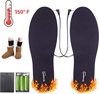 Dr.warm Thermal Soles Battery Operated Heated Shoes Insoles for Men and Women Winter Hunting Boots Shoes Sneaker Ice Fishing Hiking Camping