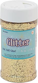 Sulyn Gold Glitter Jar, 8 Ounces, Non-Toxic, Reusable Jar with Easy to Use Shaker Top, Multiple Slot Openings for Easy Dis...