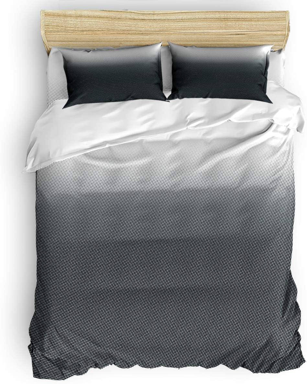 LBHAUSE 4 Pieces Bedding Bed Outlet SALE Comforter Sheet Set Soft online shopping Microfiber