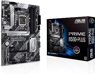 لوحة الأم ASUS PRIME B560-PLUS LGA1200 (انتل الجيل 11/10) ATX (PCIe 4.0، فتحات 2xM.2، 8 مراحل الطاقة، 1 جيجا بايت LAN، Dis...