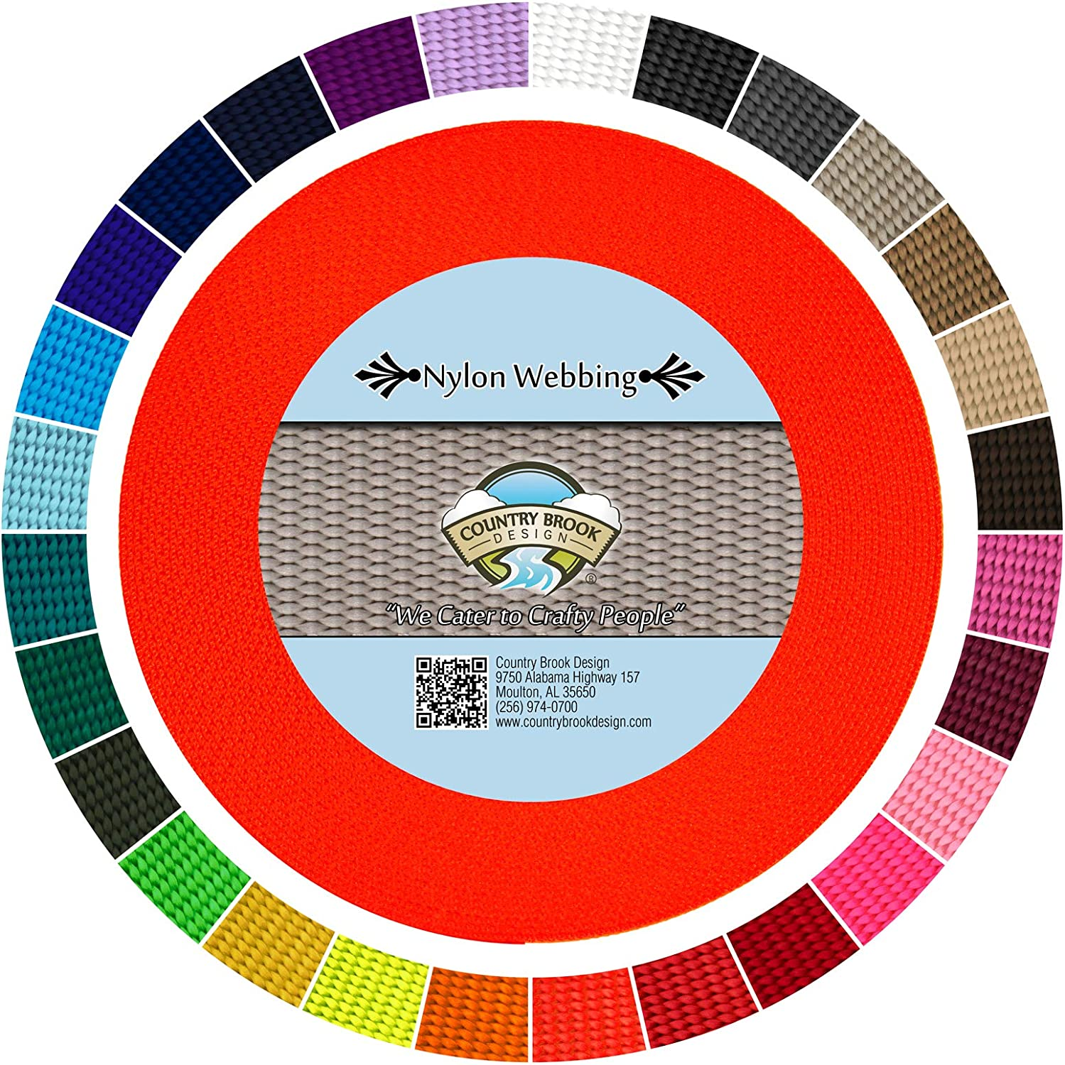Country Brook Design - Durable 5 30 8 Webbing Heavy Nylon Max 72% Max 79% OFF OFF Inch