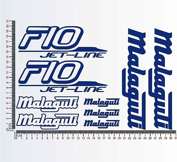 Aufkleber Set von Falko Malaguti F10 Jet Line