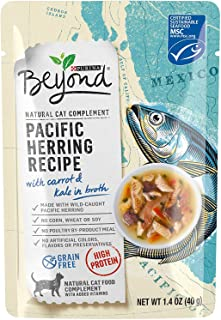 Beyond Purina Pacific Herring Recipe with Tomato & Kale in Broth Dog Food (8-2.0 OZ Pouches)