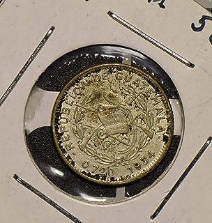 1934 GT Guatemala 1934 5 Centavos Bird Quetzal animal 290424 vintage Bird Quetzal animalanimal DE PO-01