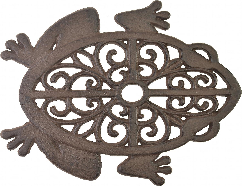 Detroit Cheap SALE Start Mall Import Wholesales Decorative Stepping Stone Cutout Frog Iro Cast