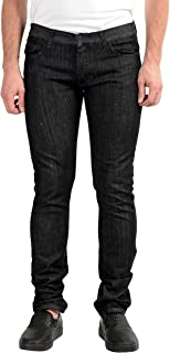 Gianfranco Ferre Men's Dark Gray Stretch Slim Jeans US 35 IT 51