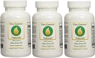 Emu Essence Ultra Emu Oil Dietary Supplements - 3 Pack