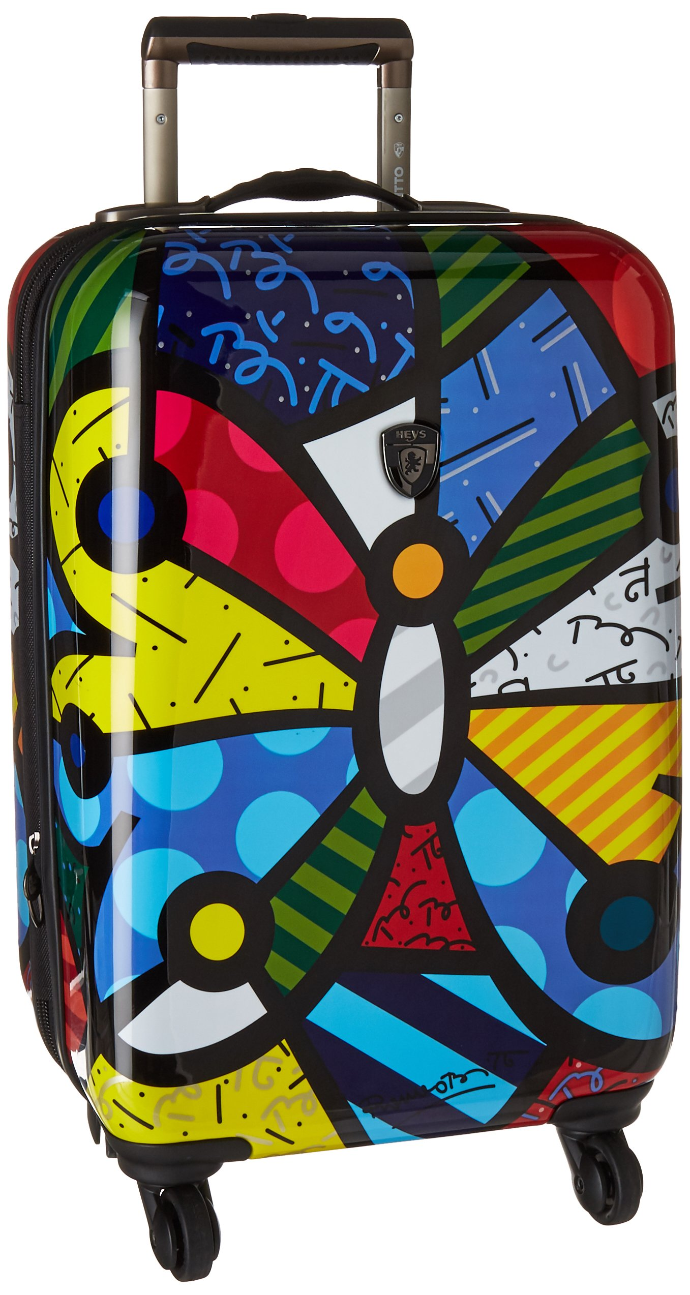 America Britto Butterfly 21 Inch Spinner