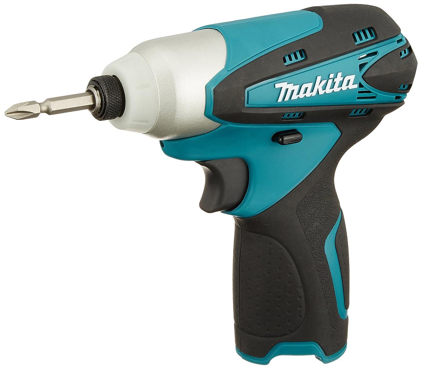 ポジティブイサカ維持するマキタ(Makita)  充電式インパクトドライバ 10.8V 青 (本体のみ/バッテリー?充電器別売) TD090DZ