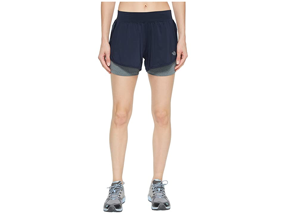 The North Face Versitas 2-in-1 Shorts (Urban Navy/TNF Medium Grey Heather) Women