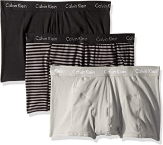 CALVIN KLEIN Mens NP1952O Elements 3 Pack Trunks Trunks - Black - Medium