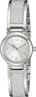 Caravelle New York Women's 43L181 Analog Display Analog Quartz White Watch