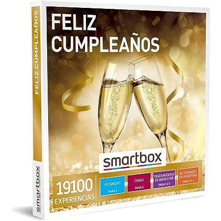 Smartbox - Caja Regalo Feliz cumpleaños - Idea de Regalo cumpleaños - 1 Experiencia de Estancia, gastronomía, Bienestar o Aventura para 1 o 2