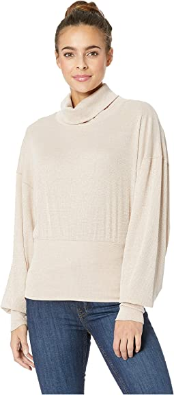 Glam Turtleneck Top