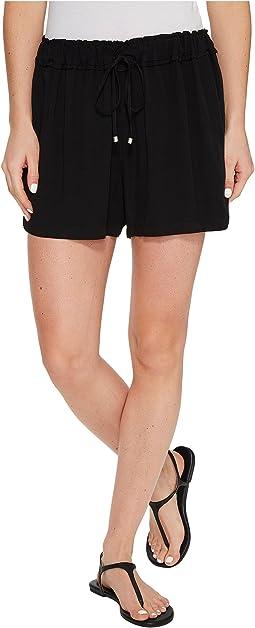 Ruffle Waist Shorts