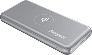 Energizer QE10007PQ Wireless Power Bank, 1000 mAh - Gray