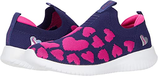 Navy/Neon Pink