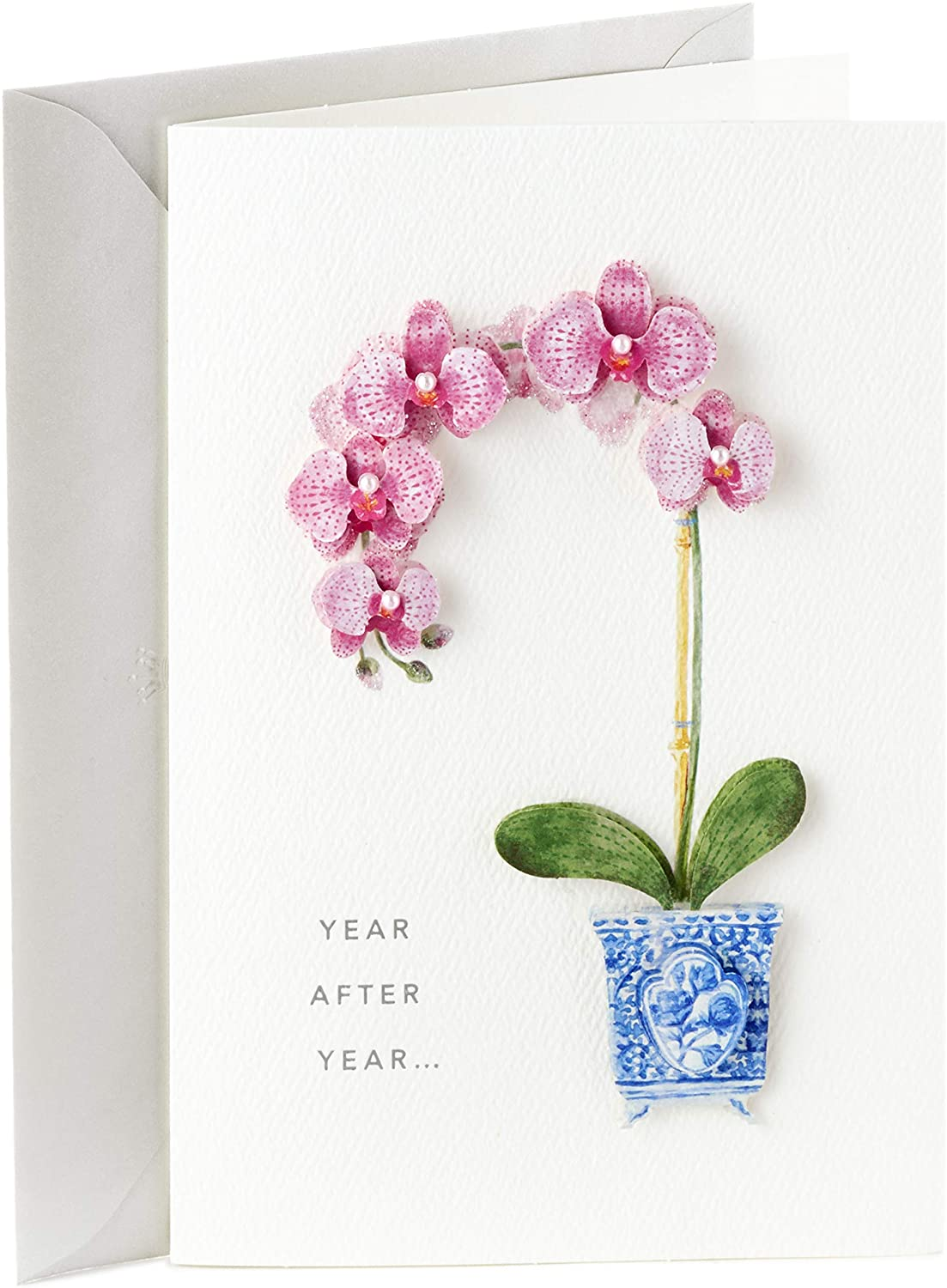 Hallmark Signature Fresno Mall Birthday Card Her Some reservation for Orchid