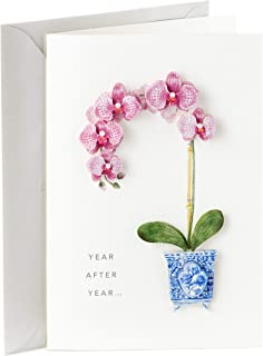 Hallmark Signature Birthday Card for Her (Orchid)