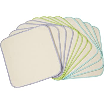 OsoCozy Organic Flannel Baby Wipes 12 pack
