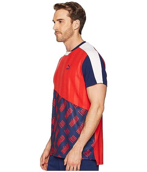 PUMA World Cup Tee FM Flame Scarlet Discount Huge Surprise Outlet Store Sale Online Discount Shop gwBAh