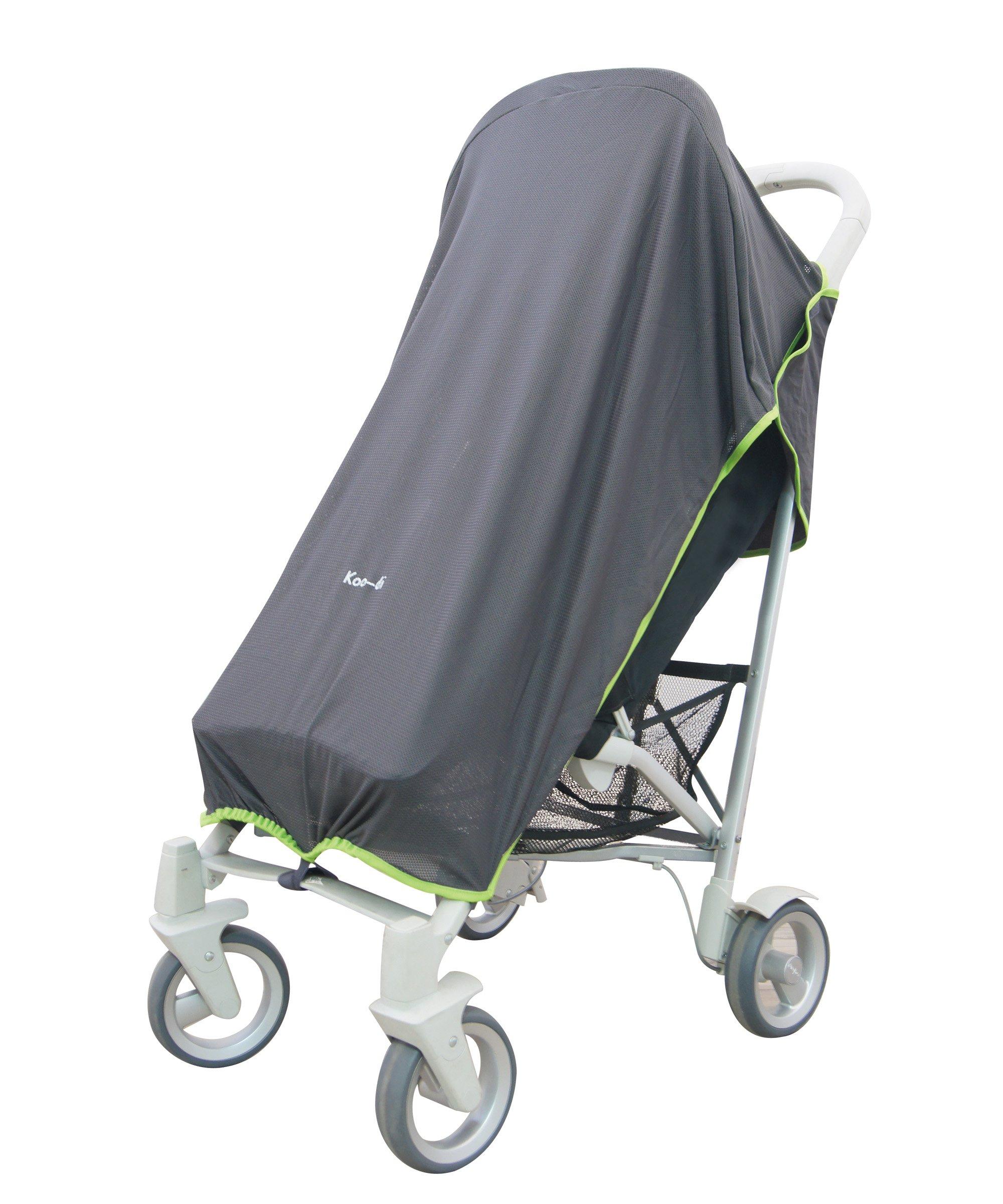 Altabebe AL2801KJ-77 Handmuffs for Stroller Dark Grey