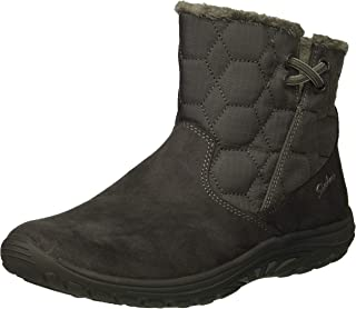 Women's Easy Going-Tribune-Double Zipper Bungee Bootie with Air-Cooled Memory Foam Ankle Boot