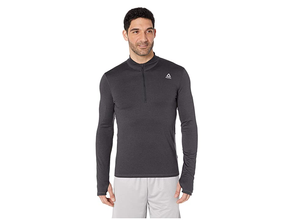 Reebok Quarter Zip (Black) Men