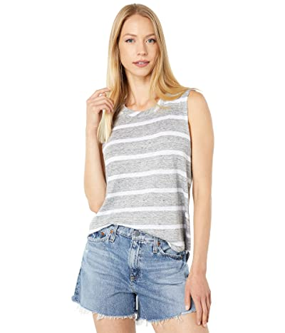 Chaser Linen Jersey Shirttail Muscle Tank