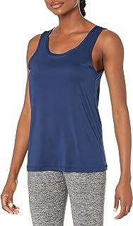 Jockey womens Illusion Sport Tank T-Shirt