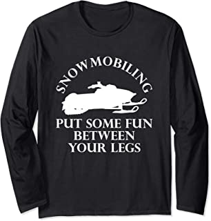 Snowmobiling Long Sleeve T-Shirt Snow Sport Riding Ski Sled