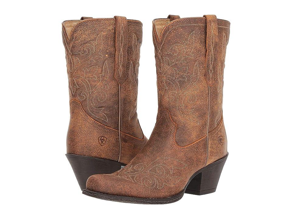 Ariat Round Up Rylan (Vintage Bomber) Cowboy Boots