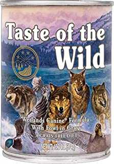 Taste of the Wild Wetlands Canine Formula with Fowl in Gravy 374gm