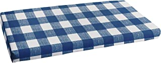 Mozaic AMCS114450 Indoor or Outdoor Bench Cushion, 60 in W x 19 in D, Anderson Zaffre