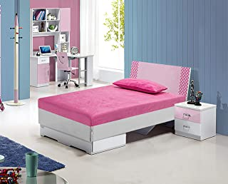 Amazon.com: Pink - Mattresses & Box Springs / Bedroom Furniture ...