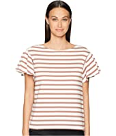 Kate Spade New York - Stripe Drop Shoulder Tee