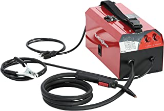 Flux Core Gasless MIG Welder 120V KickingHorse F130 UL Certified. 130A High Efficiency IGBT Inverter Run-off 15A/20A US Home Circuit Breaker. Ideal for Beginners and Home Maintenance/Renovation